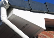 Soffits in upvc